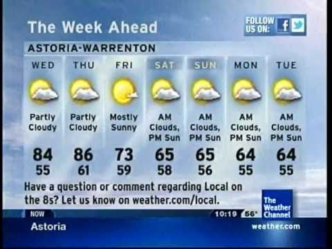 Excessive Heat Watch in effect... for Astoria? :o from YouTube · Duration:  5 minutes 3 seconds