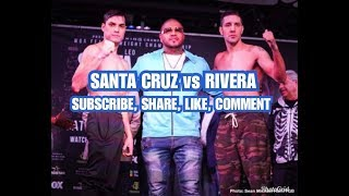 FOX:SANTA CRUZ VS RIVERA  FULL FIGHT COMMENTARY (NO VIDEO)