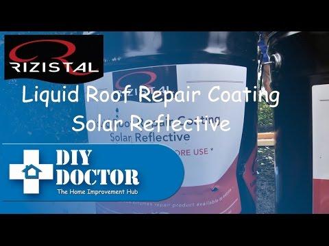 Solar Reflective liquid bitumen paint for flat roofs