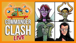 Commander Clash LIVE! | Crim Week | Alela vs. Nicol Bolas vs. Mirko Vosk vs. Sol'kanar