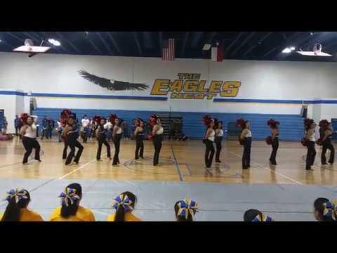 "San Eli Dance Team Pep Rally ""Watch Me Do"""