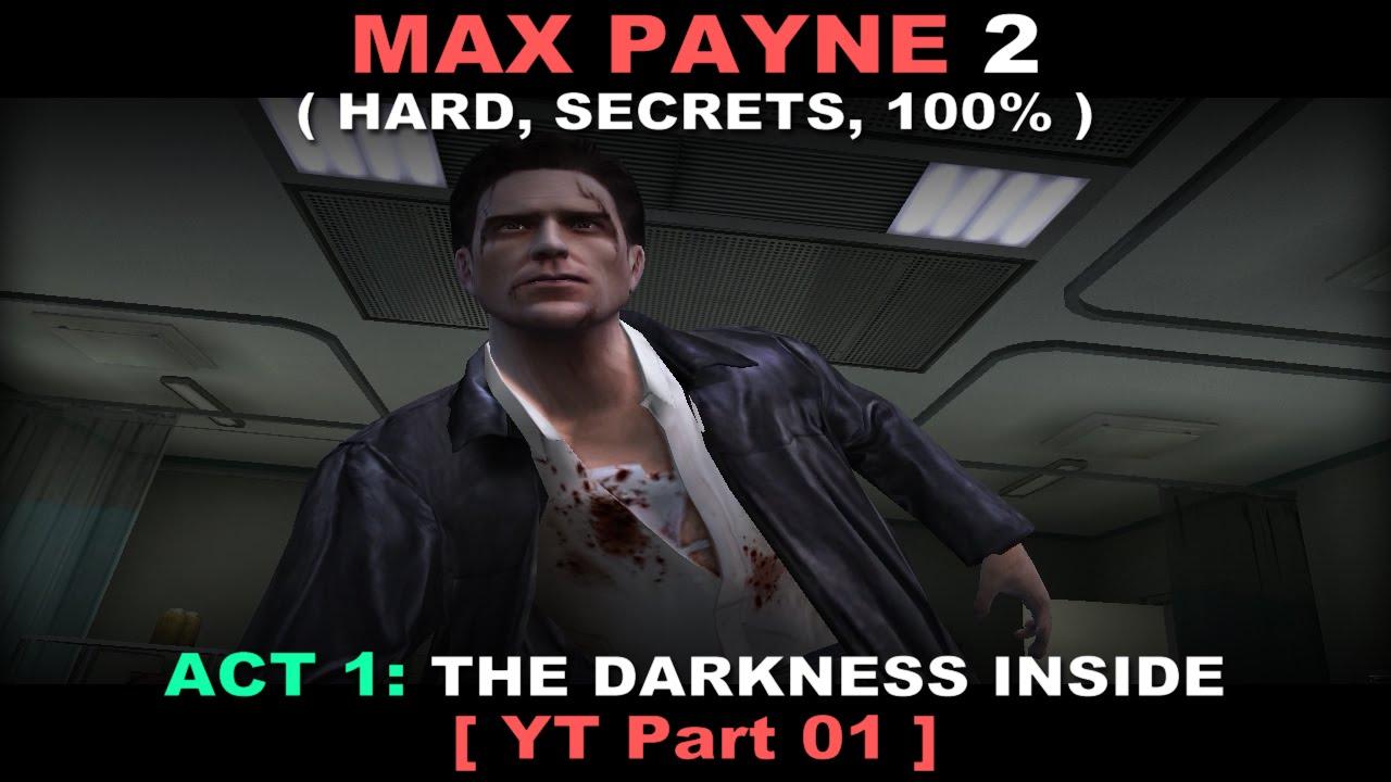 Max Payne 2 Walkthrough Part 01 Hard Secrets No Commentary