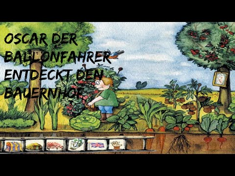 Oscar der Ballonfahrer entdeckt den Bauernhof