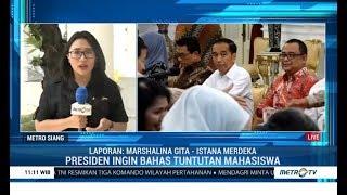 Presiden Undang Perwakilan Mahasiswa ke Istana