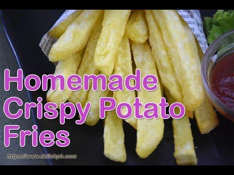 Homemade Crispy Potato Fries Fast Food Style  Delish PH