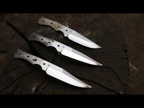 Forging Hunting Knives, Part 1.