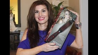 FHI heat stylus thermal styling brush review and tutorial