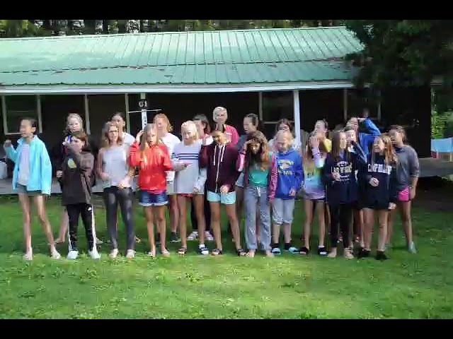 Camp Hilltop G1 Flagpole Song Week 8 2017
