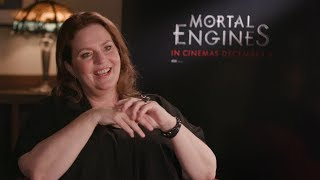 MORTAL ENGINES writer Philippa Boyens talks about adapting the novel to screen
