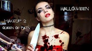 make up halloween queen of pain dota образ 2