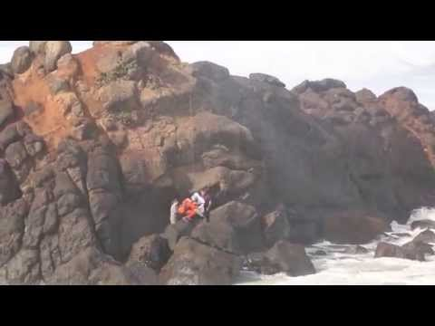 Great Job US Coast Guard! Rescue Near Lincoln City (part one)