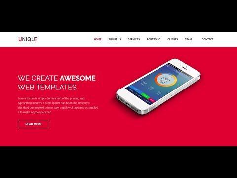 Laravel tutorial - Single page website development