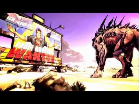 Borderlands 2 Main Screen Song+Video [HD/ Widescreen]