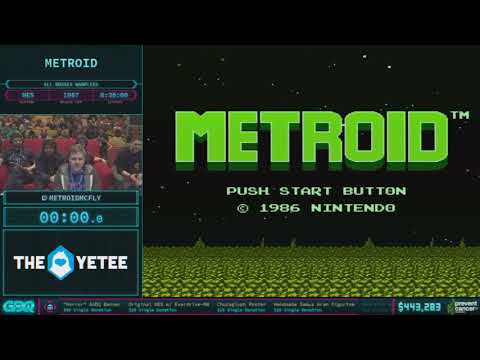 Metroid by metroidmcfly in 22:49 AGDQ 2018