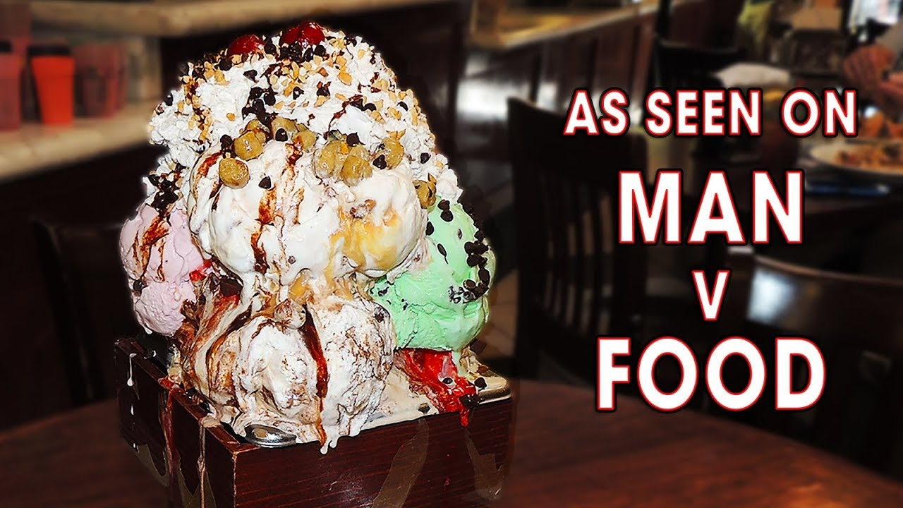 Kitchen Sink Ice Cream Sundae Challenge @ San Francisco Creamery ...