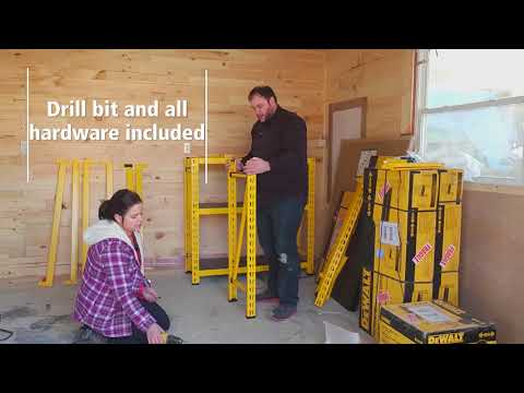 Dewalt Racking Workshop Reveal With DC Woodworks
