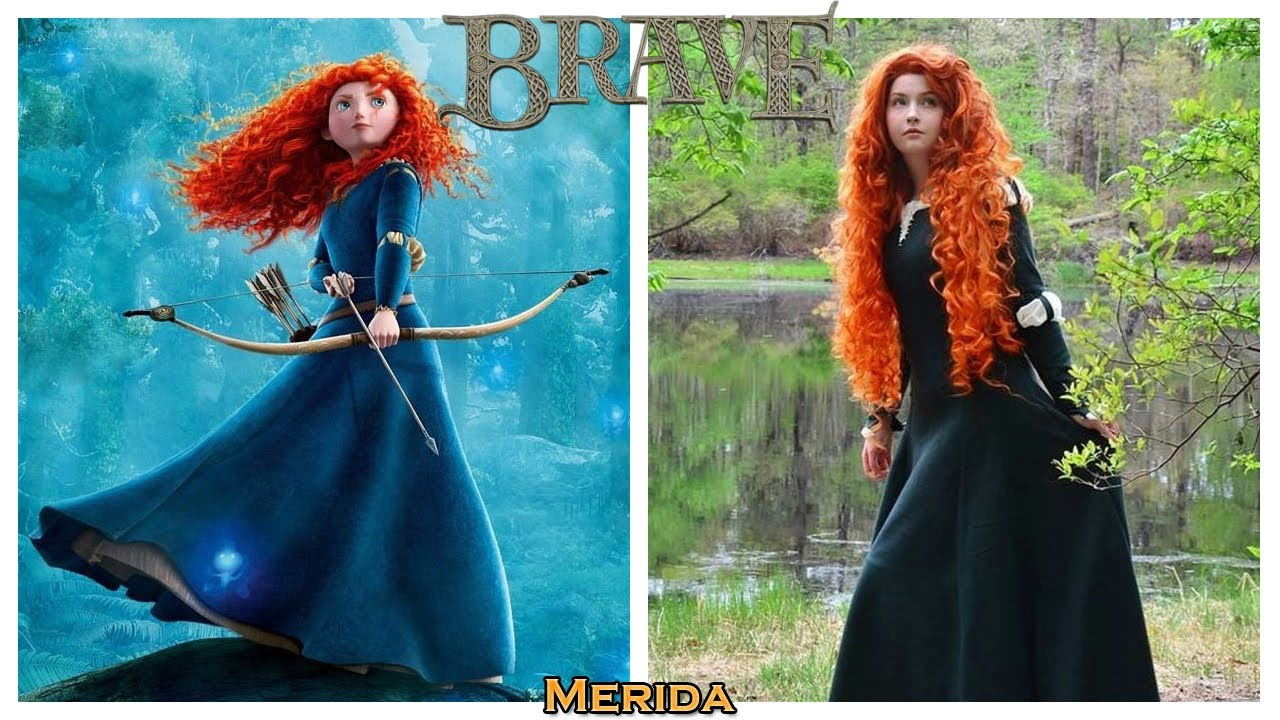 Download Disney Brave Characters in Real Life