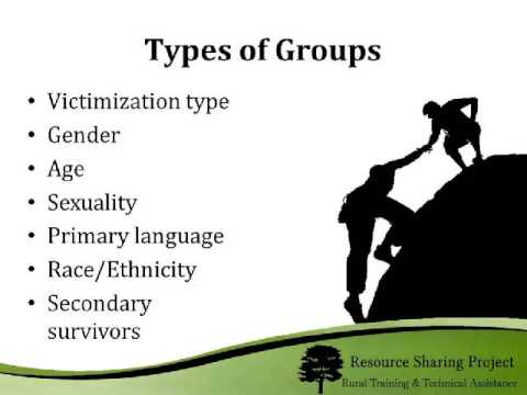 Creating and Maintaining a Support Group in a Rural Community Webinar