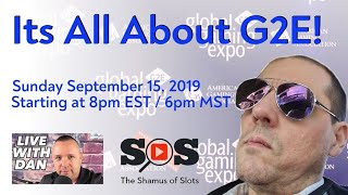 """LIVE with Dan!  Weekend Roundup!  Special Guest """"The Shamus of Slots"""""""