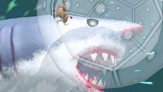 GIANT SHARK vs ZORB - Amazing Frog - Part 91 | Pungence