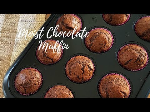 Moist Chocolate Muffin- How To Make