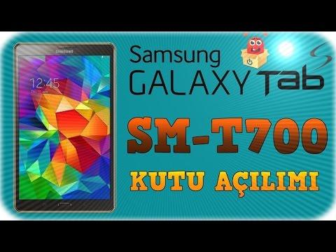 Samsung Galaxy Tab S SM-T700 Kutu Açılımı [Unboxing]
