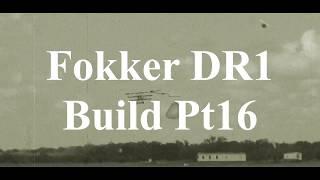 DW Hobby Fokker DR1 build Pt16 RC Model Geeks