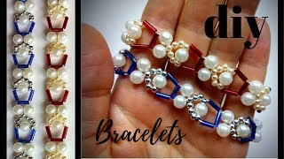✔️Beaded Jewelry Making. How to Make Beaded Bracelets. DIY gift✔️