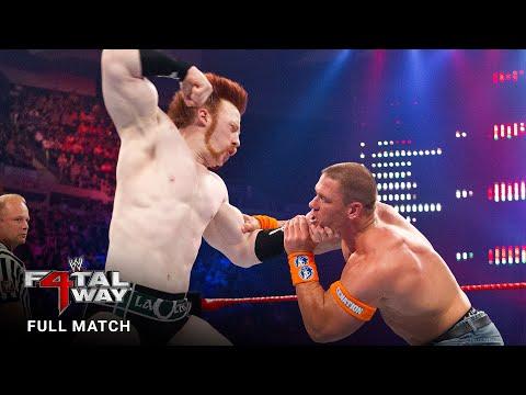 FULL MATCH - John Cena vs. Edge vs. Randy Orton vs. Sheamus – WWE Title Match: WWE Fatal 4-Way 2010