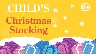 2016 Girl Traditional Christmas Stocking 8 Plus from Hawkin's Bazaar