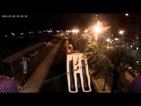 slide the city in Israel ashkelon city 2015
