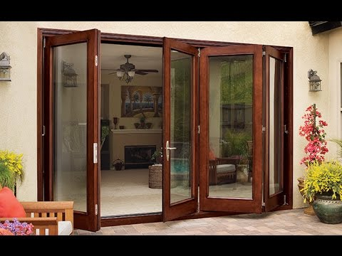 Jeld Wen Folding Patio Doors  YouTube