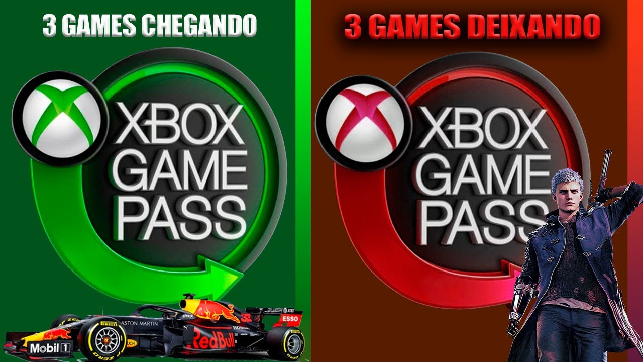 3 GAMES ENTRAM E 3 GAMES SAI EM - XBOX GAME PASS INICIO AGOSTO 2020
