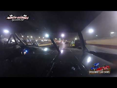 #7 Clint Nichols - Super Late Model - 11-11-17 North Georgia Speedway - In Car Camera