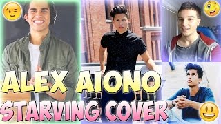 ALEX AIONO - Starving by Hailee Steinfeld & Grey feat. Zedd MASHUP COVER REACTION