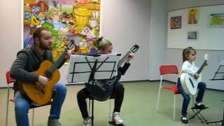 Уроки игры на гитаре для детей в Санкт-Петербурге
