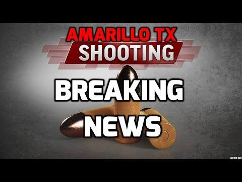 Amarillo Tx, shooting suspect shot dead