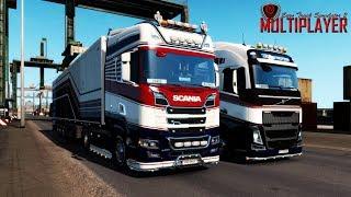 ETS2 MULTIPLAYER [SIM2] ★ #1187: Auf Tour mit der CML I Euro Truck Simulator 2