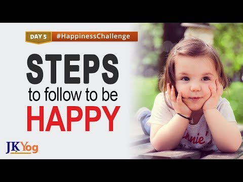 Steps to Follow to be Happy   Happiness Challenge Day 5   Swami Mukundananda