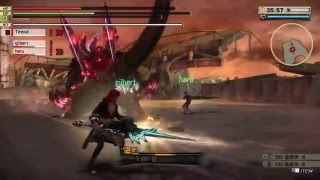 GOD EATER 2 RAGE BURST New Boss Gameplay