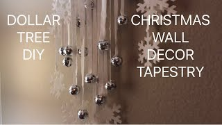How To Make A Christmas Wall Decor L Christmas Wall Decor Ideas L Diy