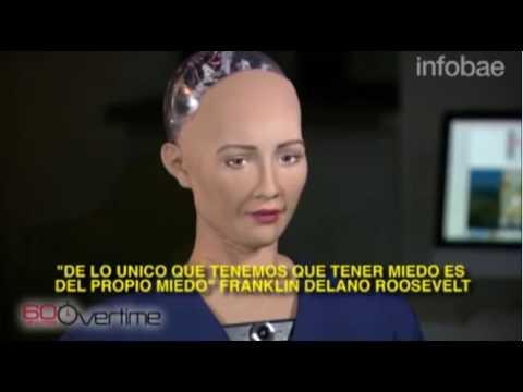 Entrevista al robot Sophia
