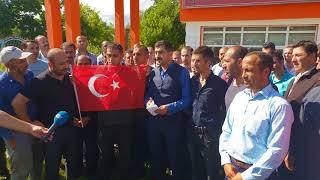 Erzurum şeker fabrikasında madur olan taşören işçiler