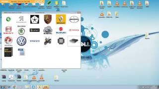 Het invoeren van service-modus op Skoda 2010-dashboard/cluster op de bank