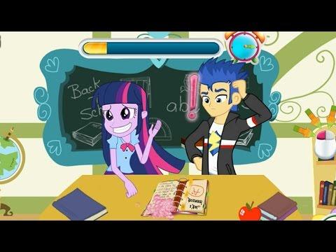 NEW Игры для детей—My Little Pony в школе—Мультик Онлайн Видео игры для девочек