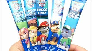 NEW CANDY - Paw Patrol Choco Sticks