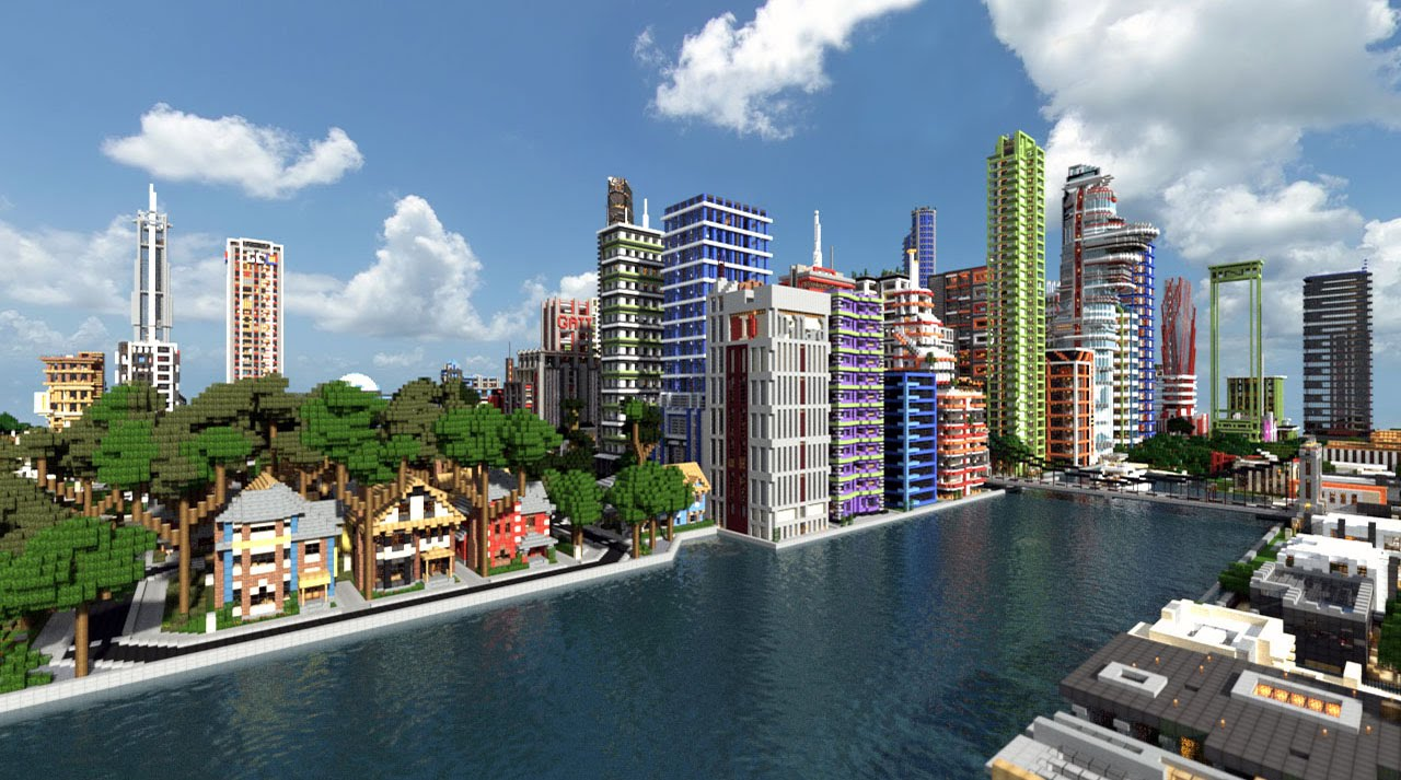 Biggest city in minecraft wdownload ps3 youtube gumiabroncs Choice Image