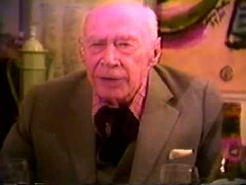 "Young Richard : ""Dinner With Henry Miller"" (rare footage, 1991)"