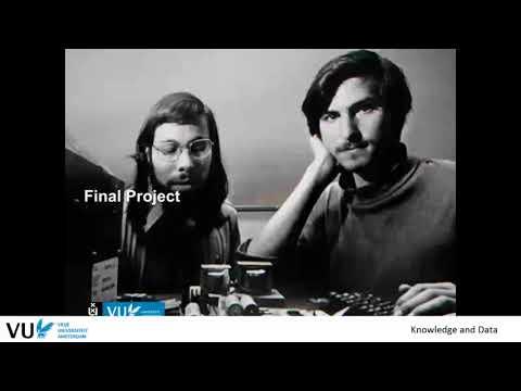 Final Project - Knowledge & Data 2017 At Vrije Universiteit Amsterdam