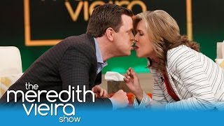 Willie Geist & Meredith Take The #TwizzlerChallenge! | The Meredith Vieira Show